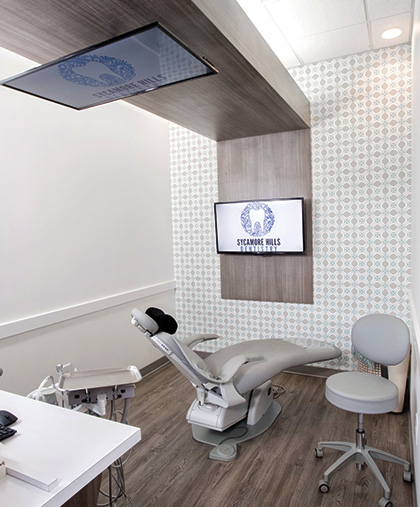 Sycamore Hills Dentistry work station